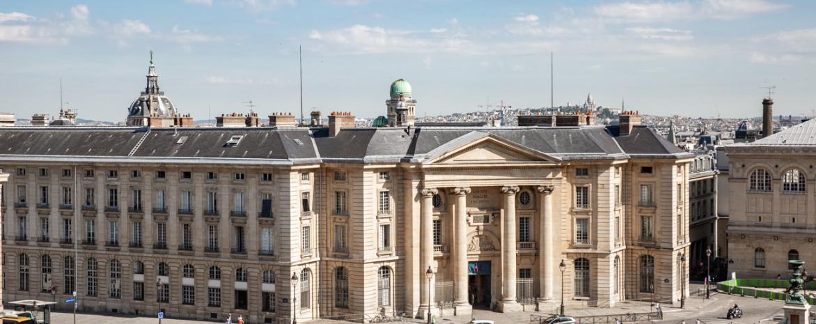 Façade du centre Panthéon, 2016 © Université Paris 2 Panthéon-Assas