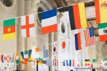 international drapeaux